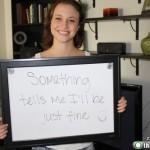 Girl Quits Job Through White Board