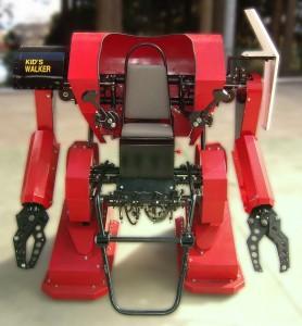 Kid Walker - Tall, Gasoline Powered Exoskeleton
