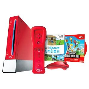 Red Nintendo Wii Sale