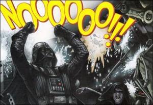 Darth Vader - No Noooooo!!!