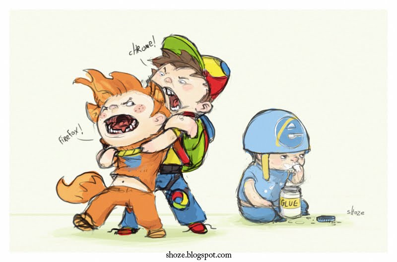 Chrome VS Firefox VS Internet Explorer