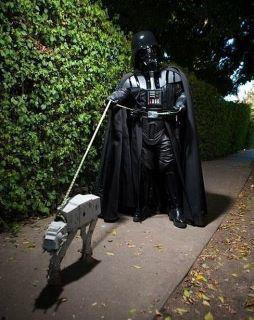 Darth Vader Walking Imperial Walker Dog